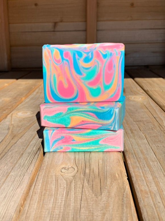 Coral Reef Coconut Milk Soap
