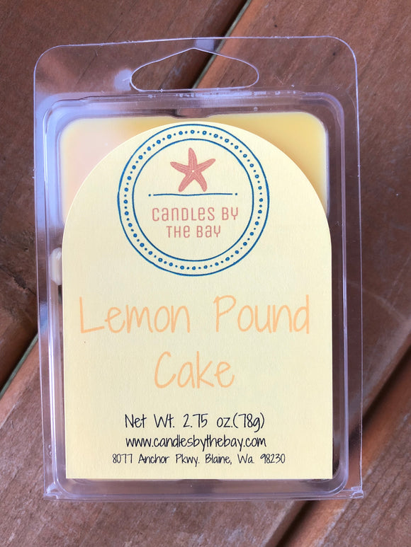 Lemon Pound Cake Soy Wax Melts