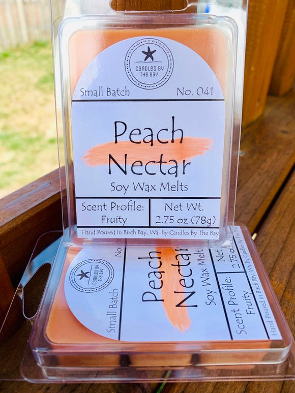 Peach Nectar Soy Wax Melts