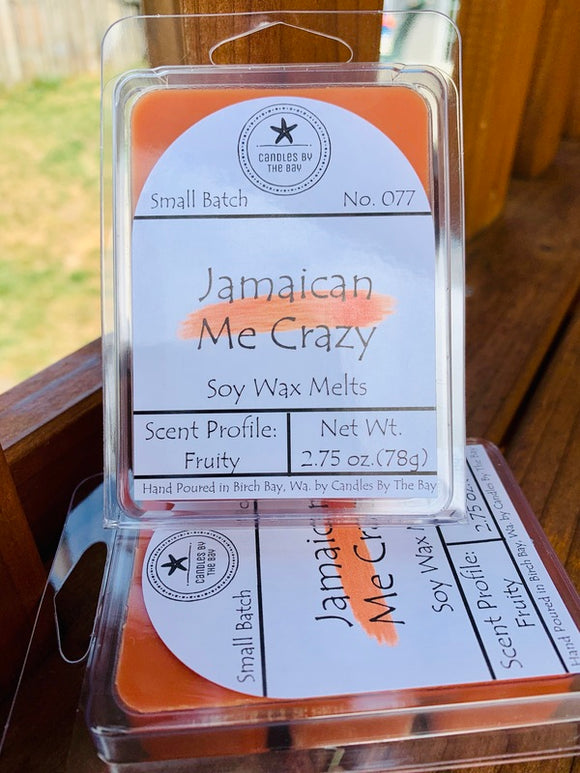 Jamaican Me Crazy Soy Wax Melts