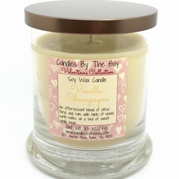 Vanilla Champagne Soy Candle