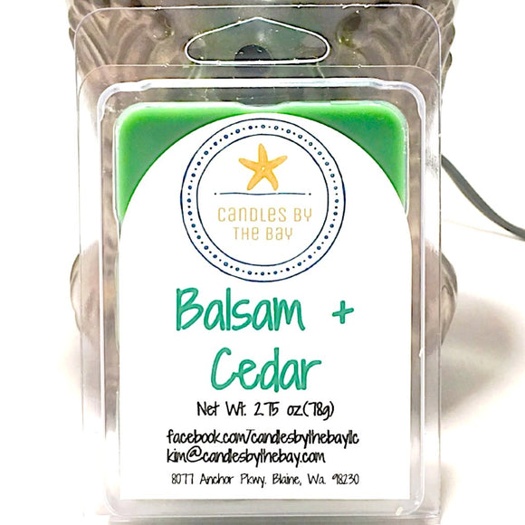 Balsam + Cedar Soy Wax Melts