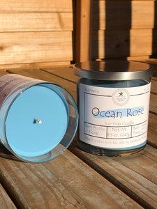 Ocean Rose Soy Candle