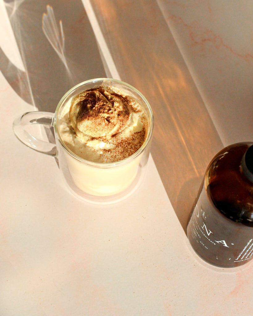Chai honeycomb affogato
