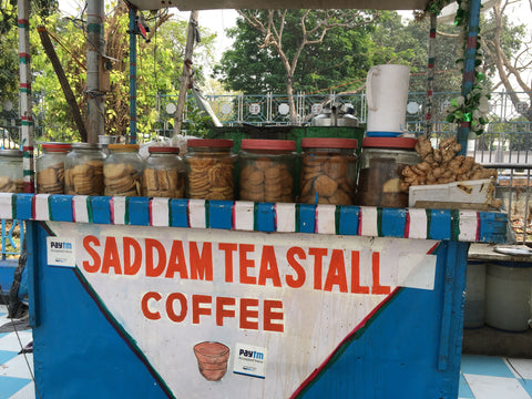 chai stall in India