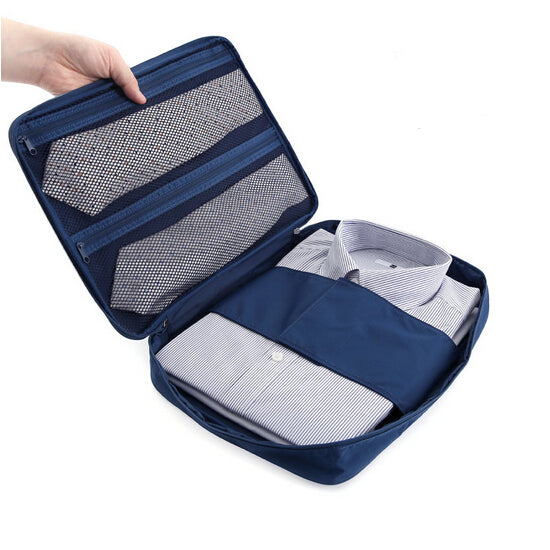 Waterproof Travel Shirt Tie Nylon Storage Bag