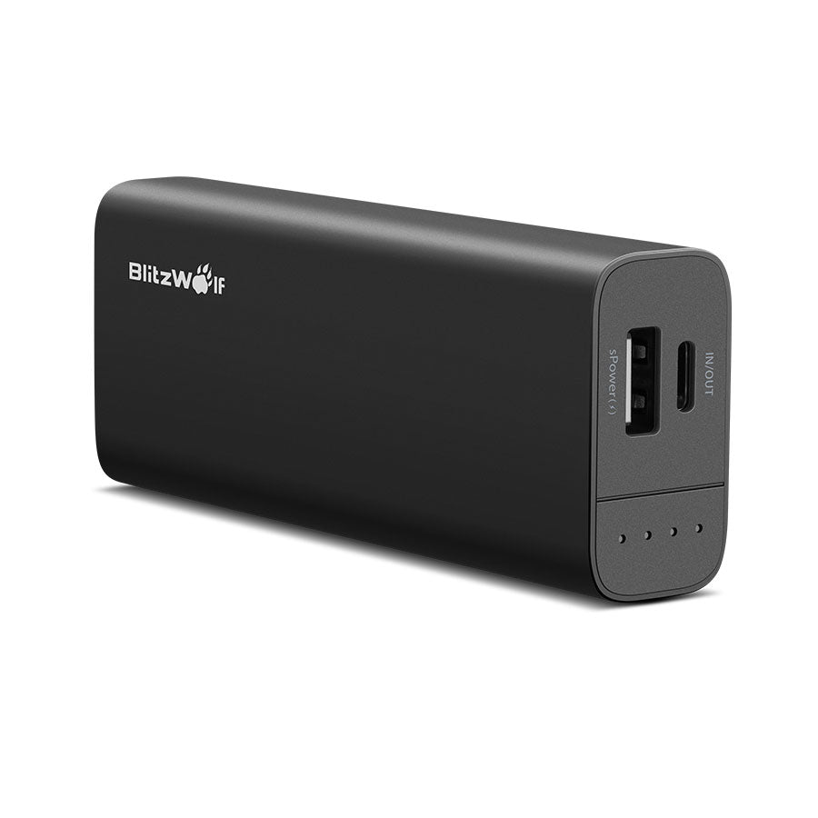 Dual USB Power Bank with Type-C Input and Output