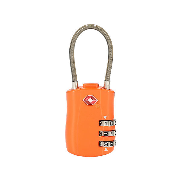 TSA 3 Digit Combination Cable Luggage Lock