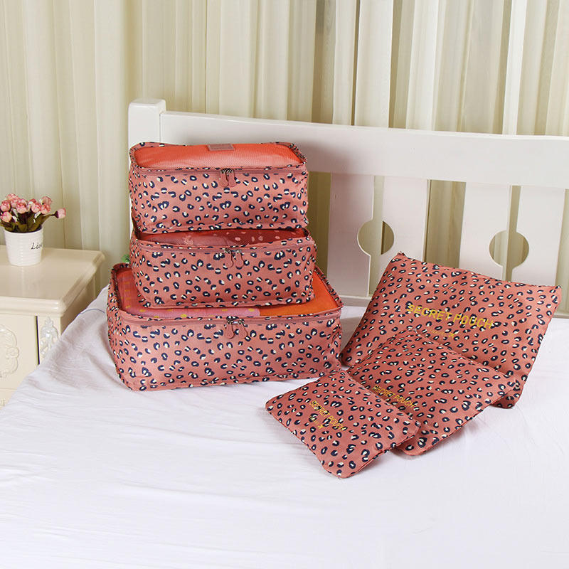 6Pcs Set Travel Luggage Bags / Clothes Organizers