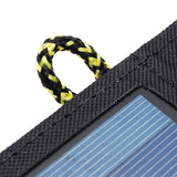 5V 7W Portable Solar Panel Power Bank With USB Port