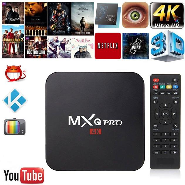 MXQ Pro Android Box Turn Your TV into a Smart TV - Groupy Buy