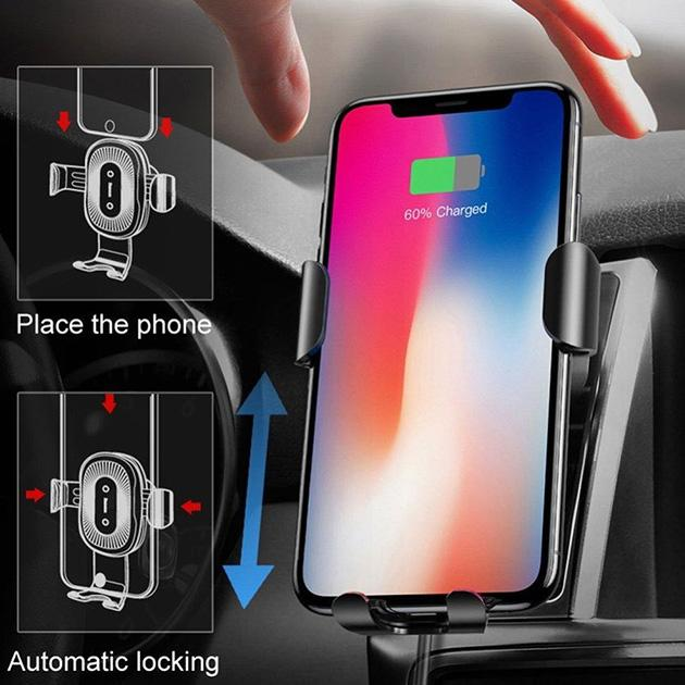 Car Mount Wireless Phone Charger & Holder - Groupy Buy