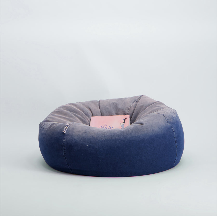 Nicolo Denim Kids Bean Bag