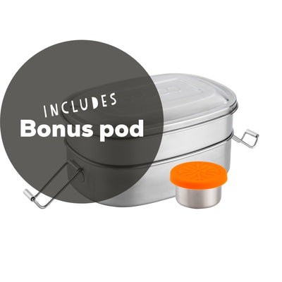 Lunch box Set - Stacker + Pod