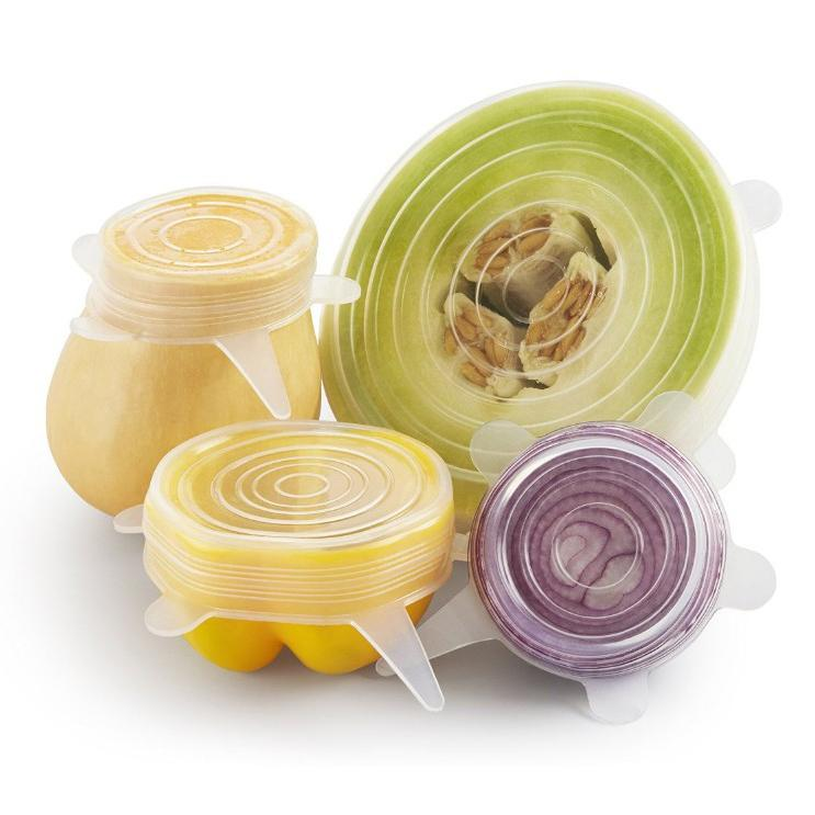 Reusable Stretch Lids - Set of 6