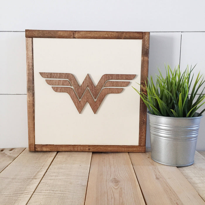 Superhero Wall Art 14""