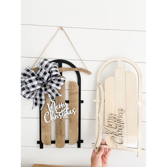 Sled Kit- Door Hanger- FREE SHIPPING!
