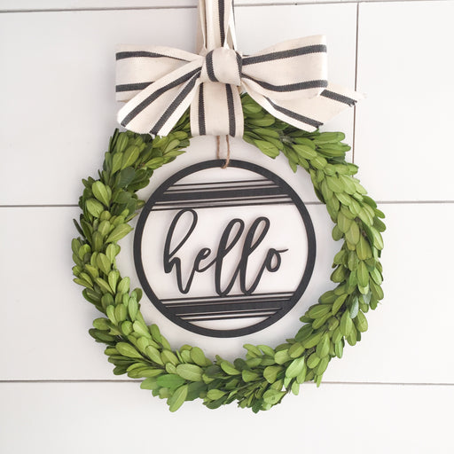 "6"" Farmhouse Wreath Insert"