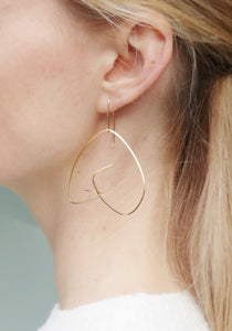verso earrings (medium)