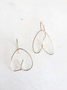 verso earrings (small)