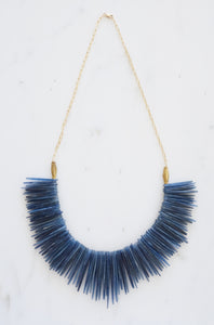 kyanite collar necklace