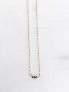 trio whisper necklace
