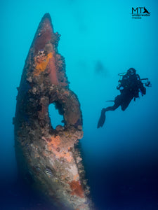 The wrecks of Melbourne, Australia