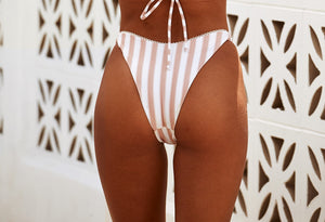 Aruba Brazilian Pant in Peach