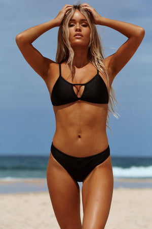 Moana Surf Top - Black