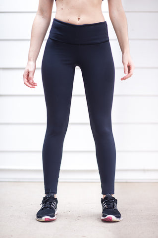 "Sculpting ""Black"" Legging - Trampoline Activewear"