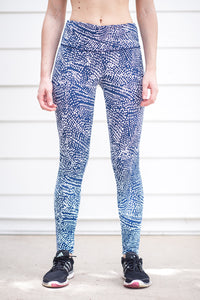 "ECO ""Fireflies"" Performance Legging - Trampoline Activewear"