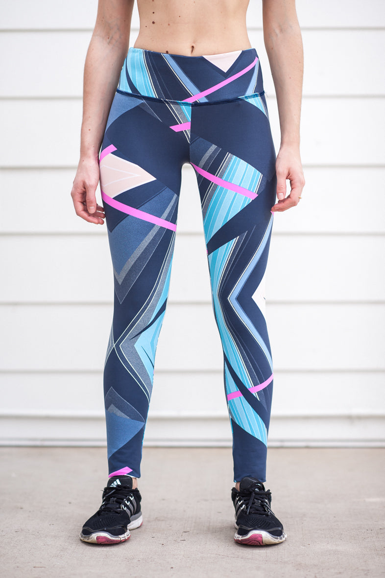 "ECO ""Sunset Feelings"" Performance Legging - Trampoline Activewear"