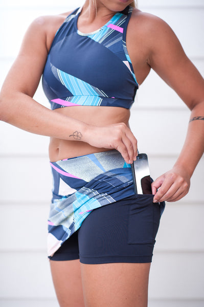 "ECO ""Sunset Feelings"" Ultimate Skort - Trampoline Activewear"