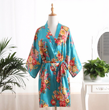 Load image into Gallery viewer, Turquoise Robe