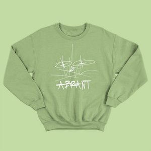 """Wreckless Mess"" Crewneck (Apple Green)"