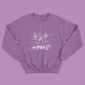 """Wreckless Mess"" Crewneck (Purple)"