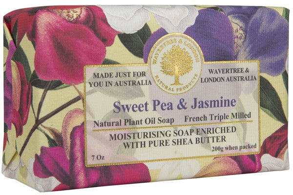 Sweet Pea & Jasmine Soap Bar