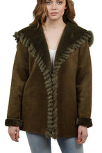 Valentina Genuine Rabbit  Fur Coat