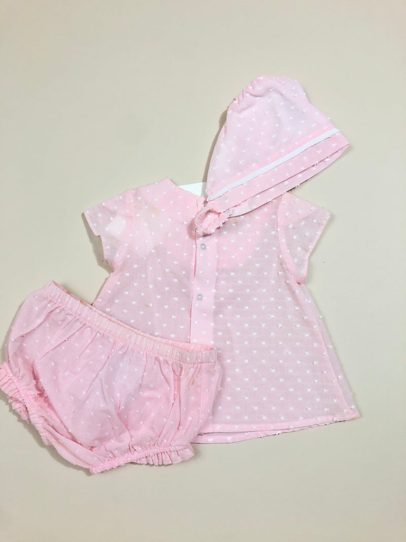 Plumerias Blouse set