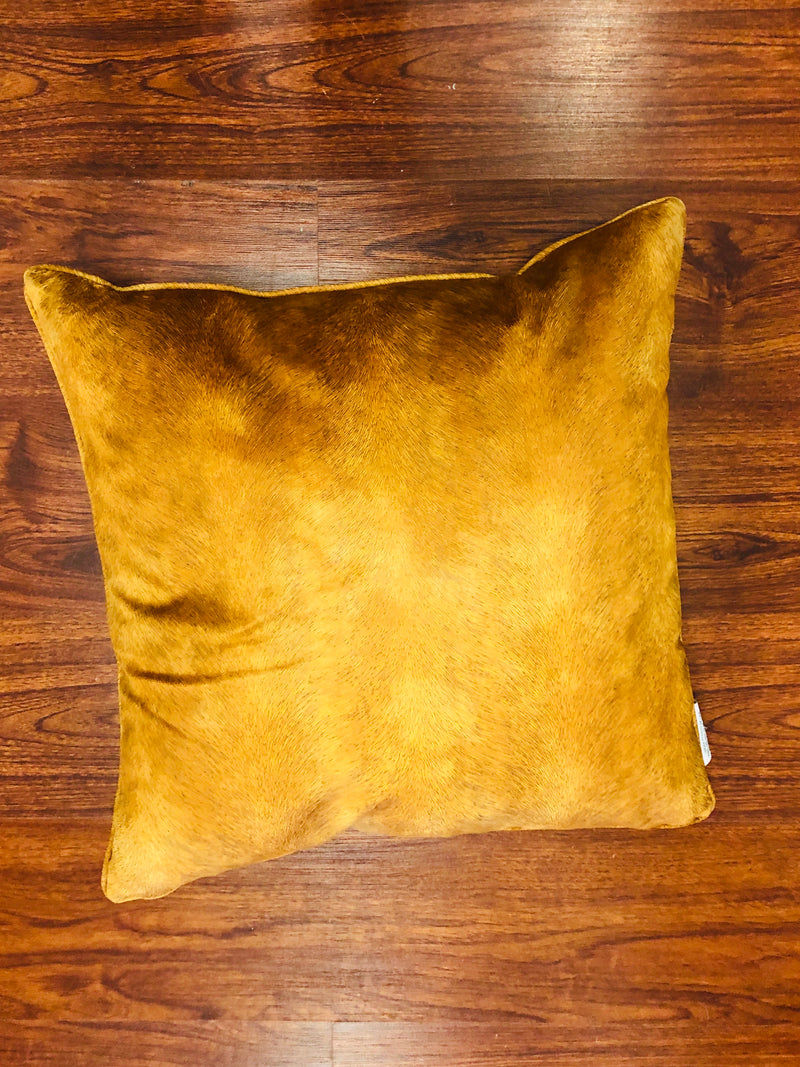 Golden pillow