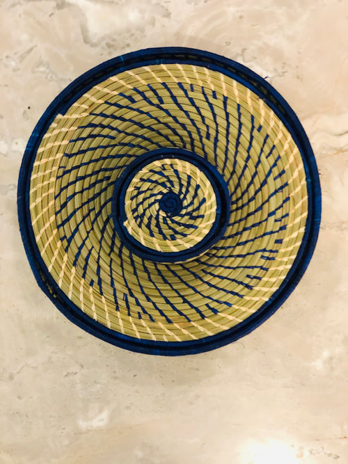 Rwandan placemat and coaster set