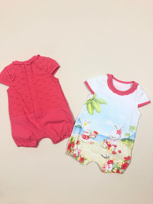 Two short onesie set
