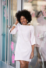 Pale Pink Bell sleeve dress