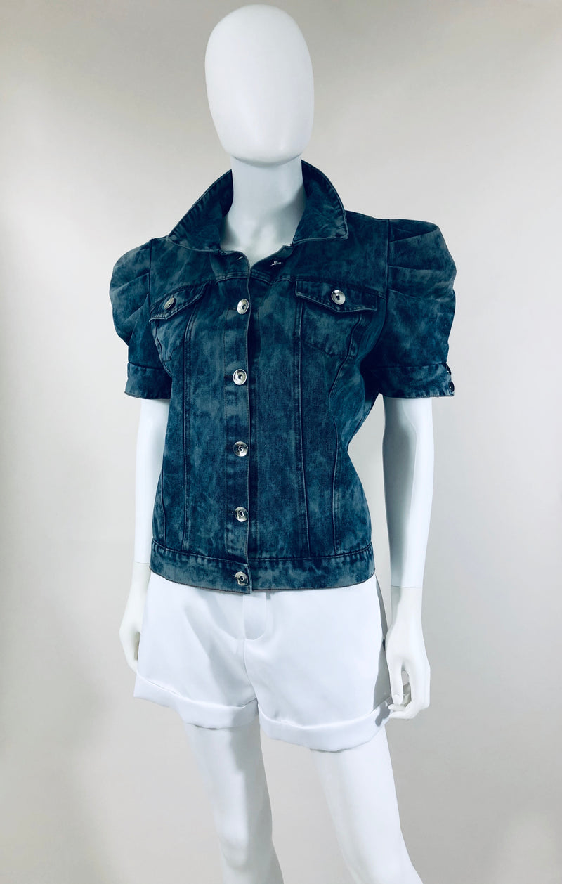 Denim Short sleeve jacket