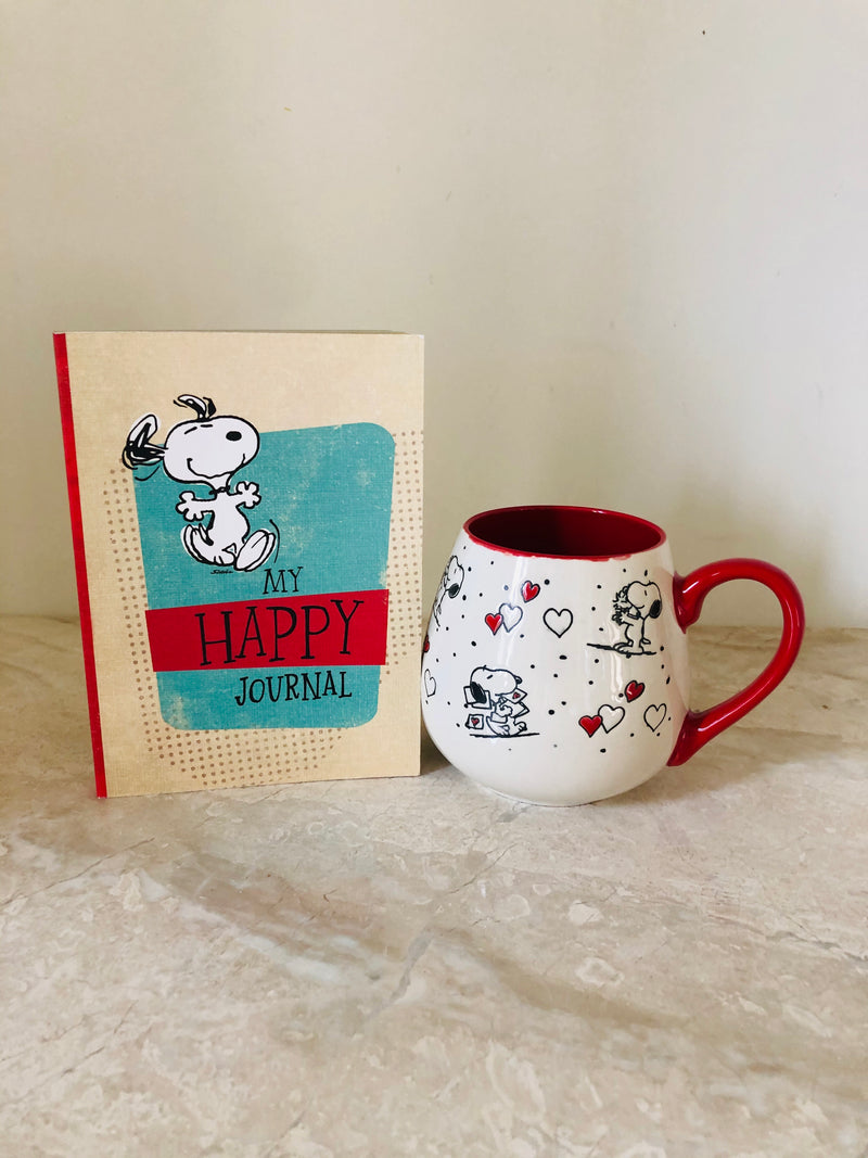 My Happy Journal and Mug
