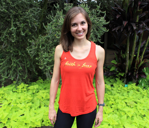 Faith>Fear Bamboo Tank