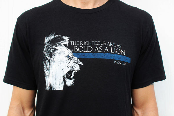 Bold as a Lion - Thin Blue Line