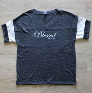 Blessed V-Neck - Black