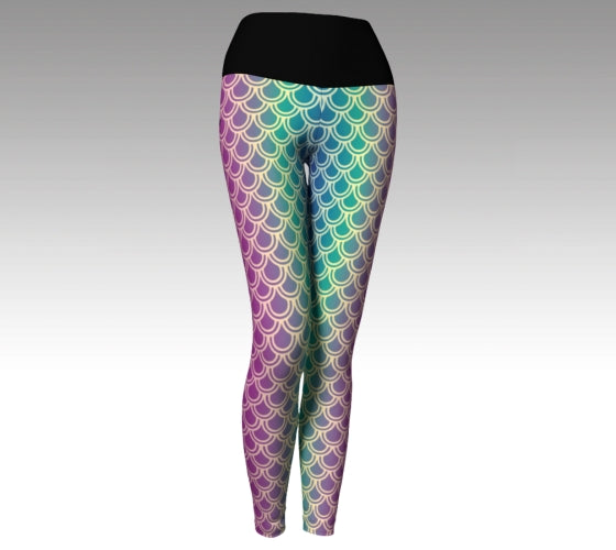 Mermaid Leggings - Full