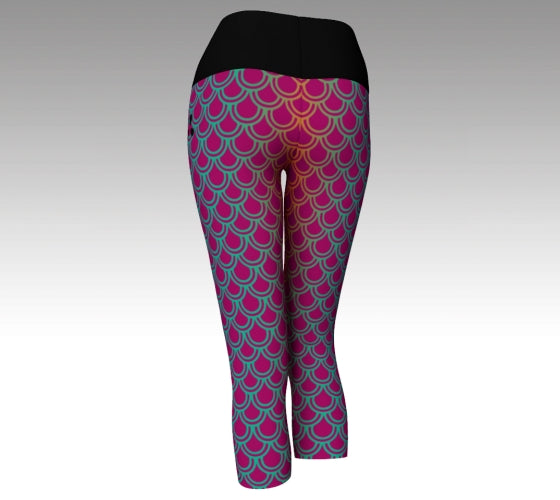 Mermaid Leggings - Cropped